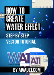 How to Create a Water Effect in Vector Step by step