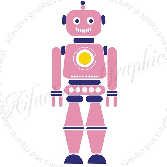 cute robot clipart - photo #40