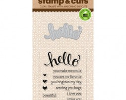 Hero-Arts-Stamp-and-Cut-Hello-Stamp-with-Matching-Die-Cut-Set-0