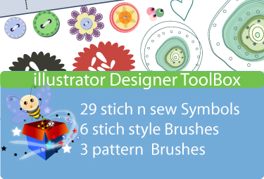 Stich n Sew Embroidery inspired ID tool box