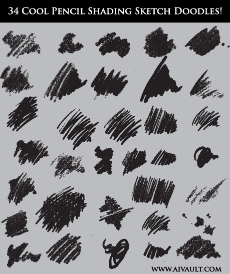 34 Cool Pencil Shading Sketch Doodles!