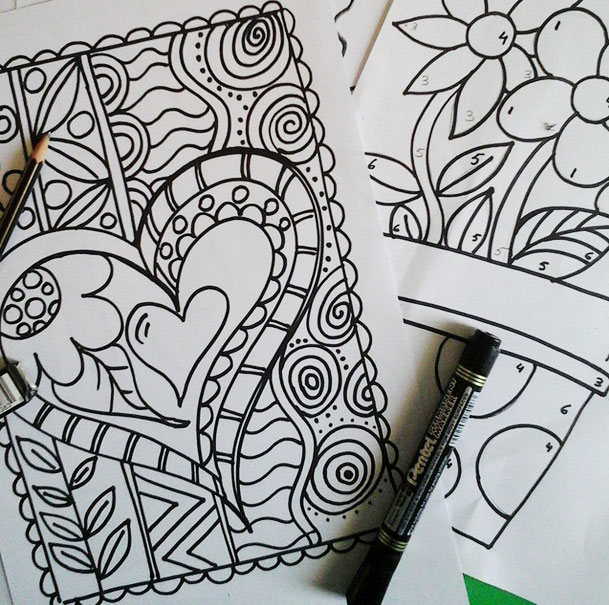 draw-coloring-pages