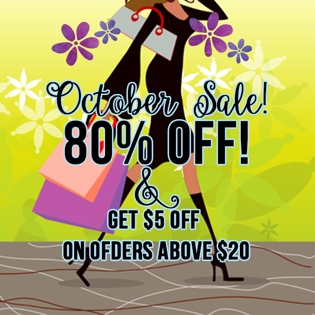 80% OFF sale at the store shop clipart , vector graphics